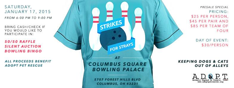 Strikes for Strays 2015